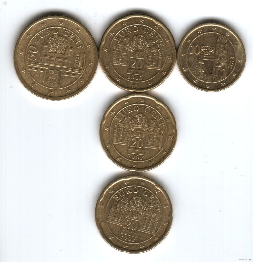Евроценты фото по странам 20 копеек 1955 года цена ссср