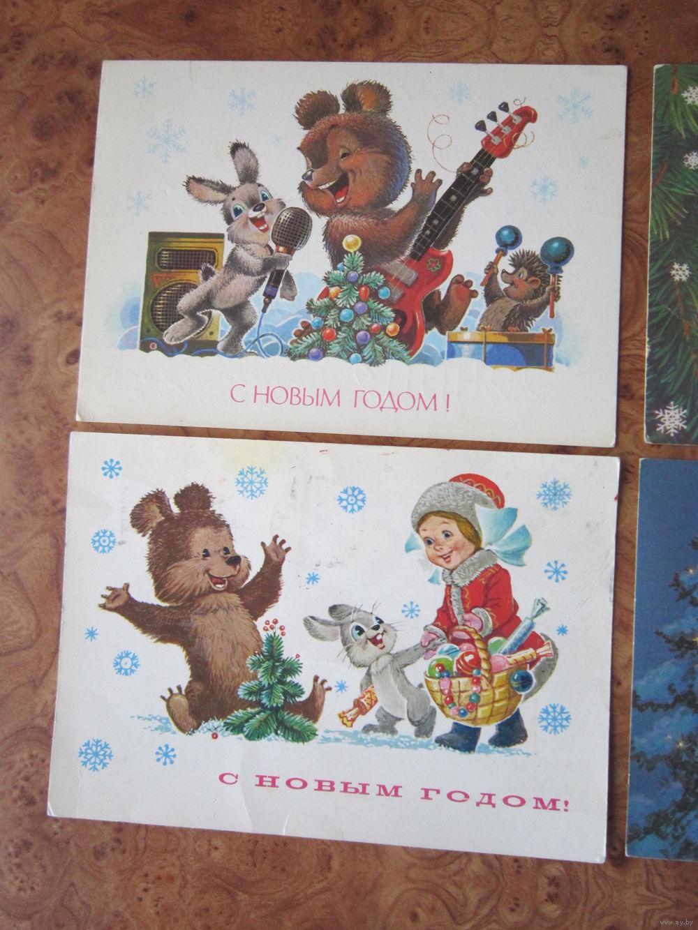 Коллекция открыток художника Владимира Зарубина с описанием 14