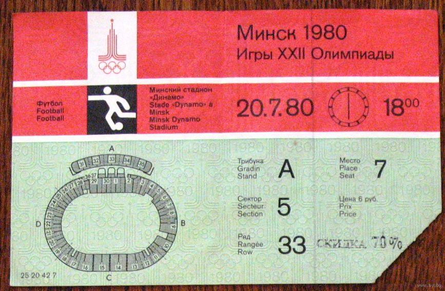 Конкурс на билет на футбол
