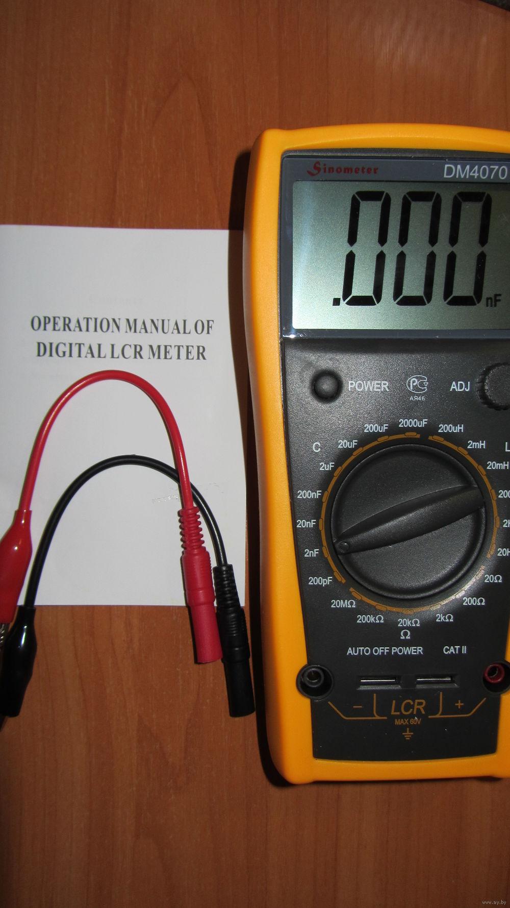Цифровой lcr метр sinometer se8301 схема