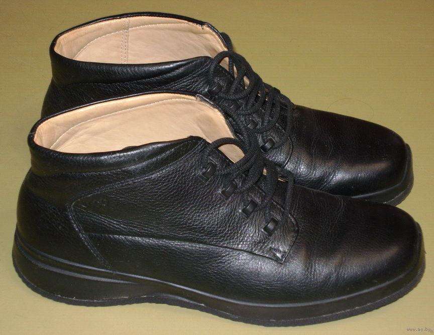 c5cc61afb Ботинки ECCO, кожаные на кожаной подкладке. Размер 41. Купить в ...